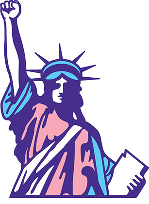 Lady Liberty Transgender Rights