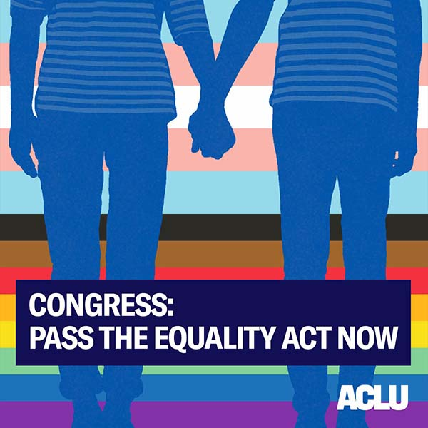 Pass the Equality Act Graphic
