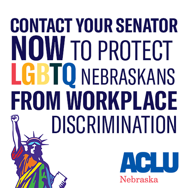 Contact Senator LGBTQ Graphic